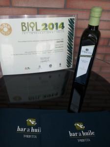GOLD MEDAL BIO-OIL 2014