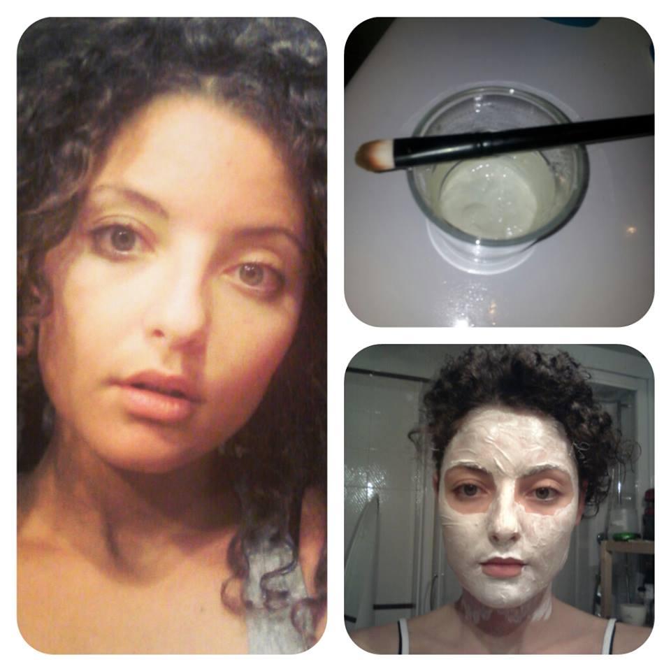 maschera al caolino