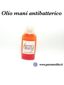 olio mani antibatterico