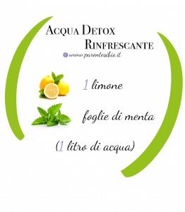 detox rinfrescanti