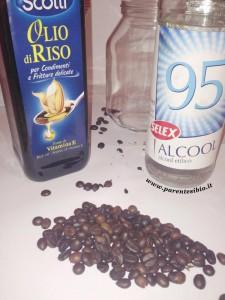 oleolito alcolico al caffè
