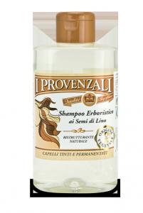 shampoo erboristico ai semi di lino i provenzali