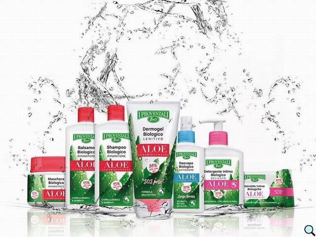 Linea Cosmetica Biologica Aloe - I Provenzali