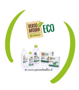 Verso Natura ECO Una gamma di prodotti rispettosi degli equilibri naturali. Con Verso Natura ECO, anche nell'ambito dei prodotti funzionali come quelli per le pulizie di casa o per la detergenza di capi d'abbigliamento, è possibile affidarsi a soluzioni biocompatibili e ipoallergeniche.