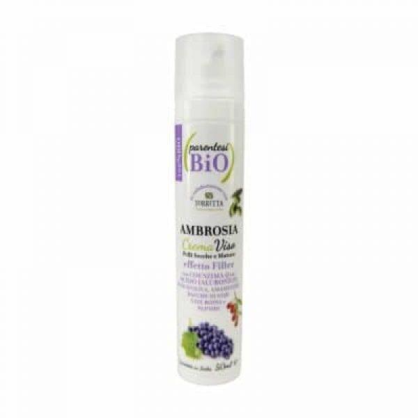 Ambrosia crema viso anti age pelli mature e secche effetto filler