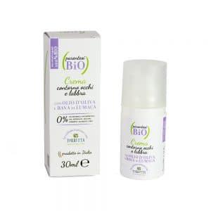 In realtà basta anche utilizzare una crema dermatologicamente testata, che rende il tutto molto più cocoon. Come la linea di Naturaverde Bio formulata con il 10% di bava di lumaca pur