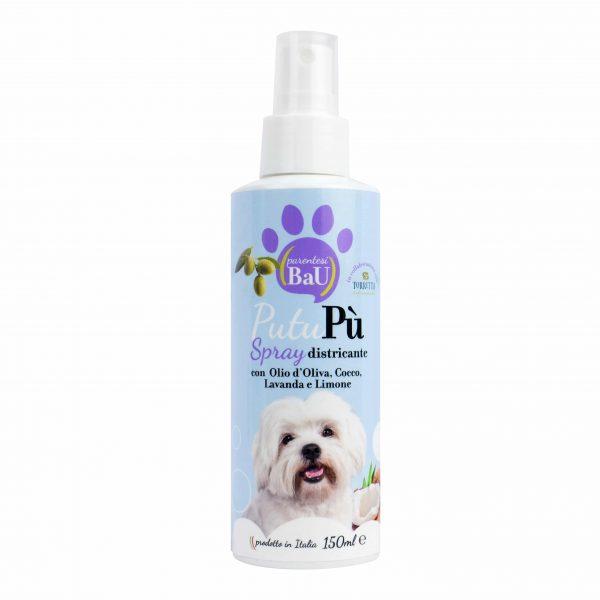 Putupù spray districante profumato quotidiano per cane