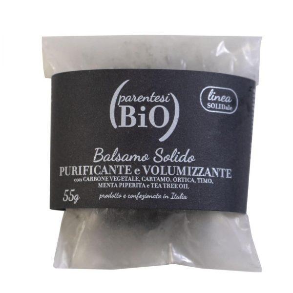 Balsamo solido purificante – volumizzante